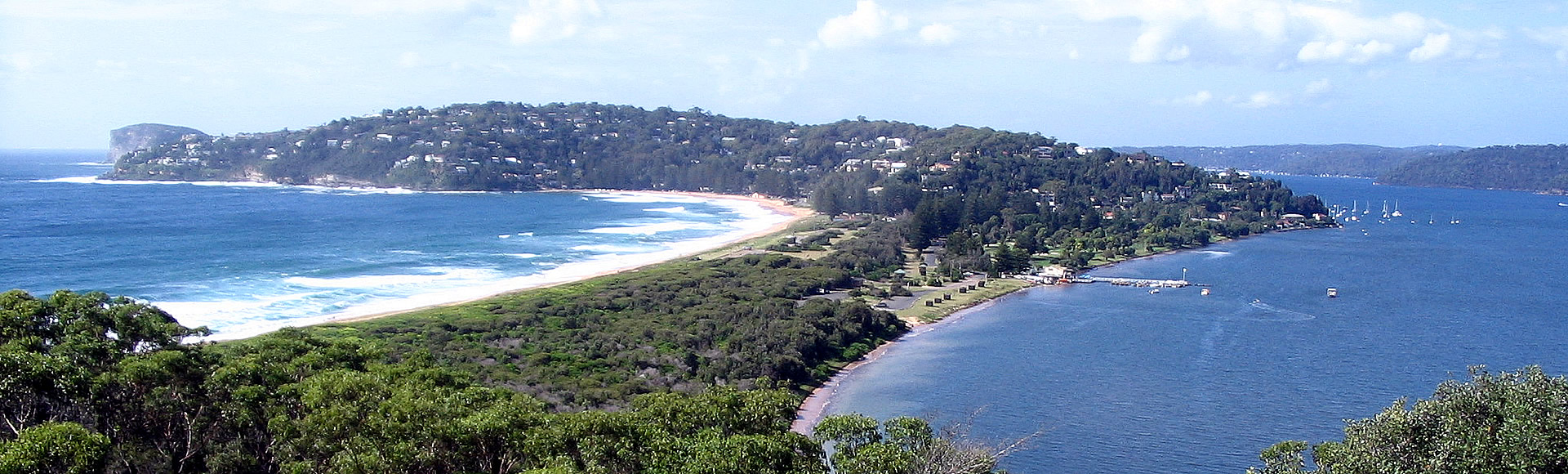Looking South from Barrenjoey Headland